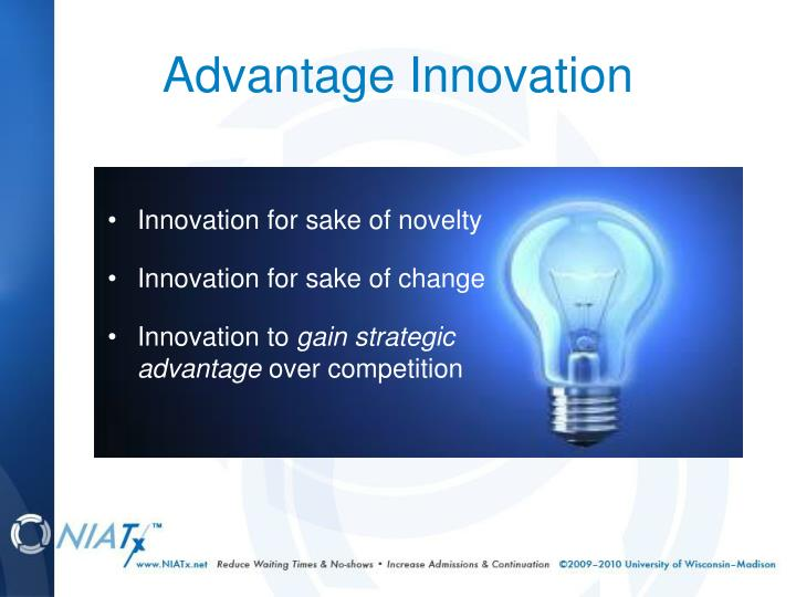 Advantage Innovation