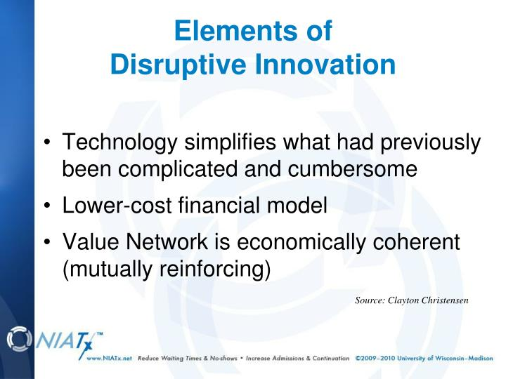 Technology simplifies what had previously been complicated and cumbersome