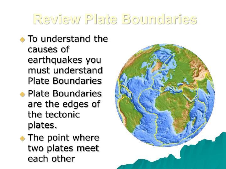 Review Plate Boundaries