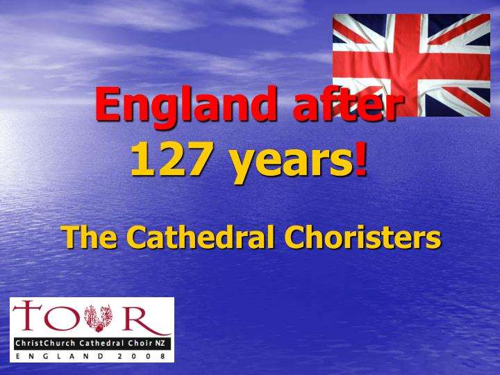 england after 127 years n.