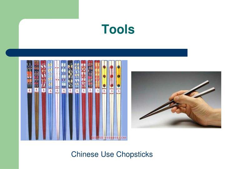 Chinese Use Chopsticks