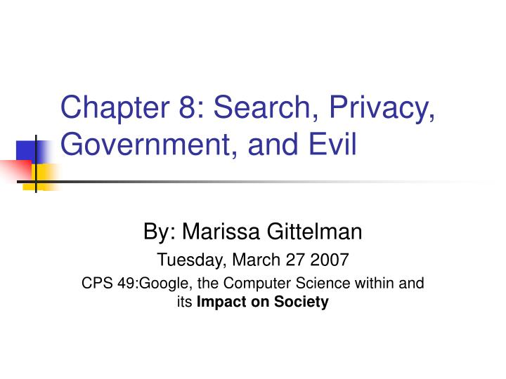 chapter 8 search privacy government and evil n.