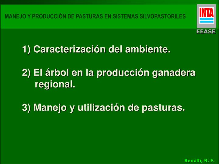 Manejo y producci n de pasturas en sistemas silvopastoriles