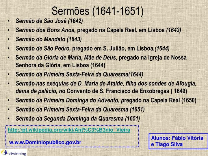 Sermões (1641-1651)