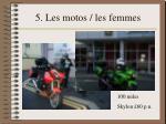 5 les motos les femmes