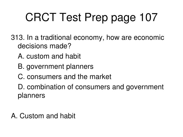 CRCT Test Prep page 107