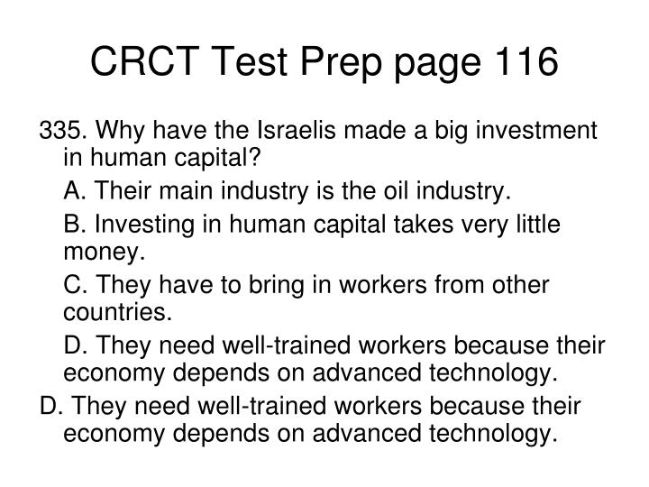 CRCT Test Prep page 116