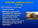 personal survival skills front cab1