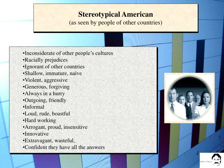 Stereotypical American