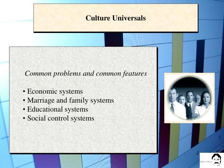 Culture Universals