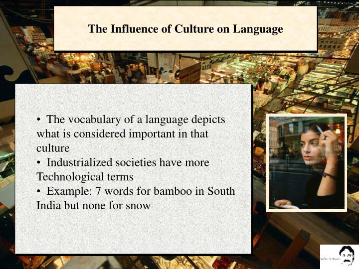 The Influence of Culture on Language