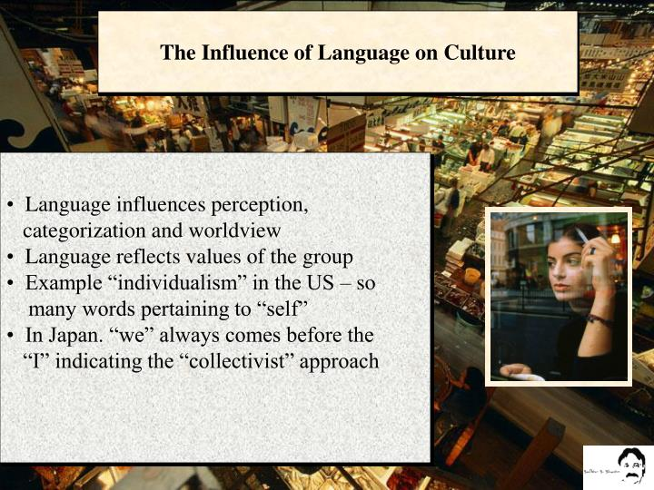 The Influence of Language on Culture