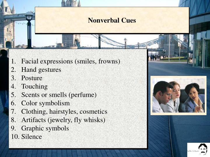 Nonverbal Cues