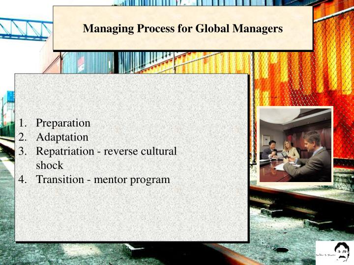 Managing Process for Global Managers