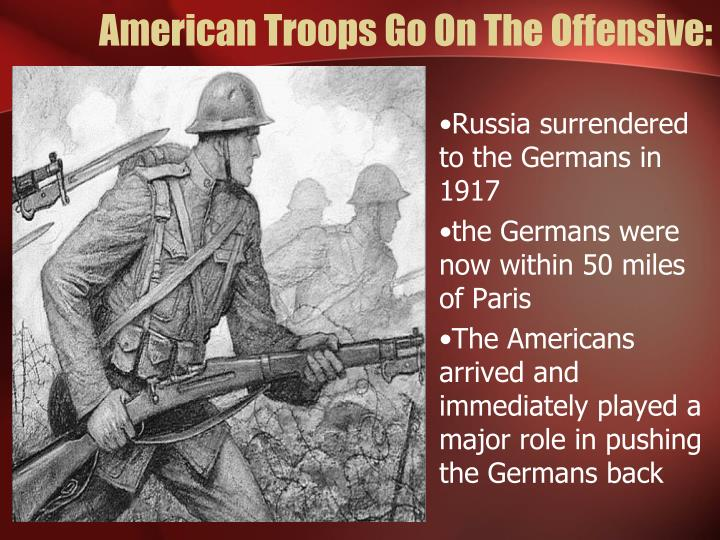 American Troops Go On The Offensive: