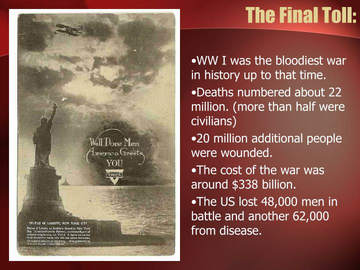 The Final Toll:
