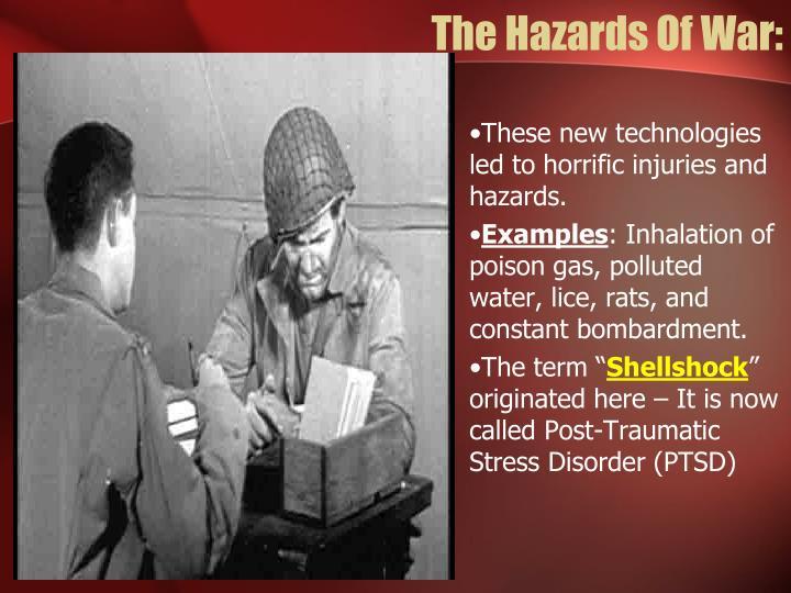 The Hazards Of War: