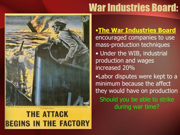 War Industries Board: