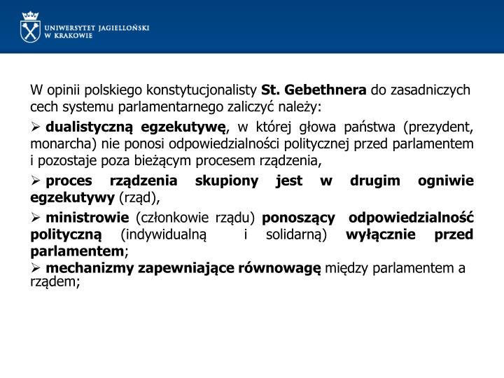 W opinii polskiego konstytucjonalisty