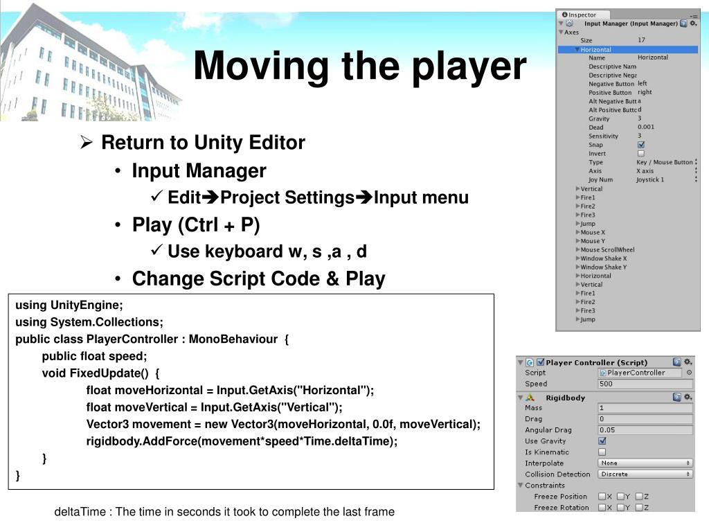 PPT - Unity3D Tutorial PowerPoint Presentation - ID:6177575
