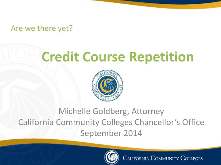 credit course repetition n.