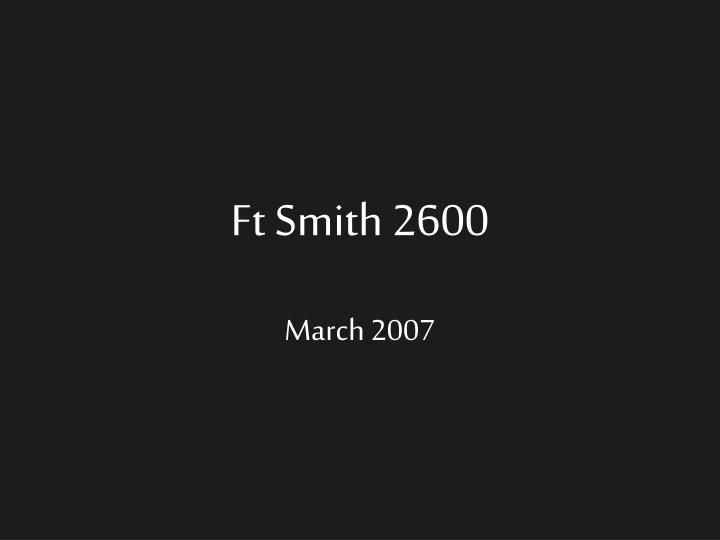ft smith 2600 n.