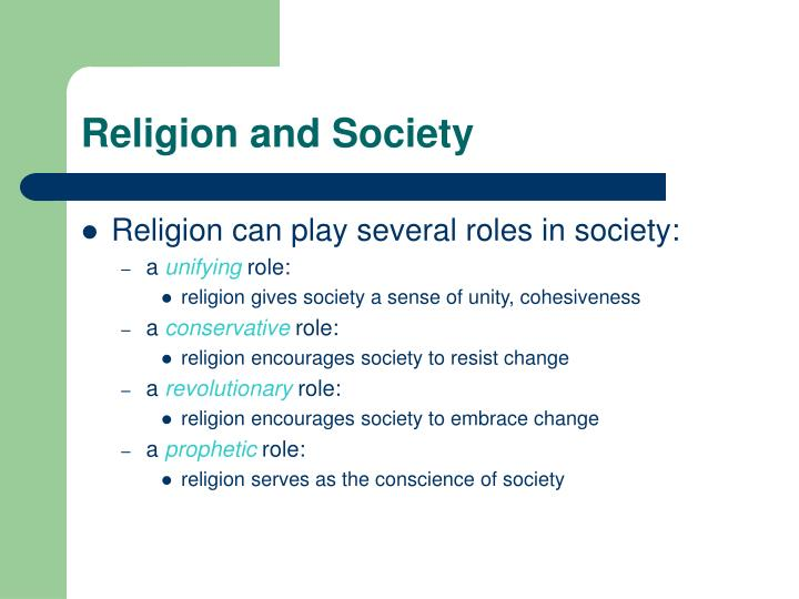religion can be both a conservative force and an initiator of social change Religion can be both a conservative force religion can be both a conservative force  it can be an initiator of change the main debate is between marx and weber a traditional marxist view- advocated by karl marx- views religion as a conservative force, a force that discourages social change  claiming that they fail to address.