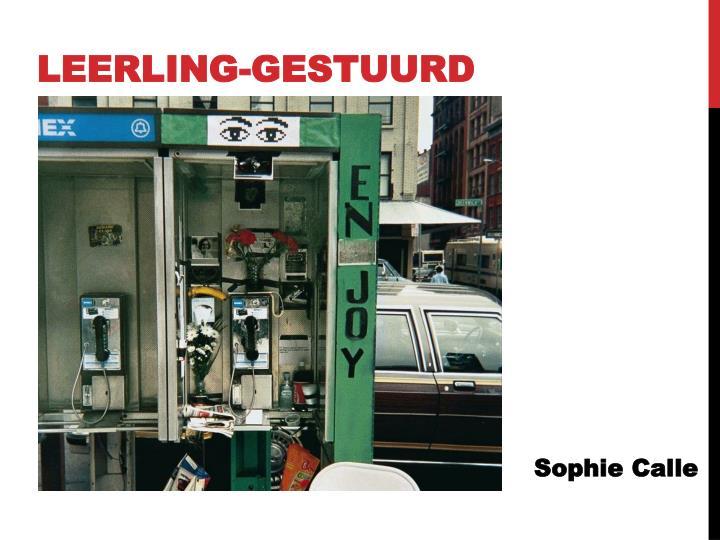 LEERLING-GESTUURD