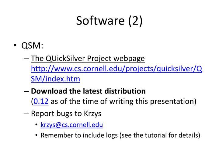Software (2)