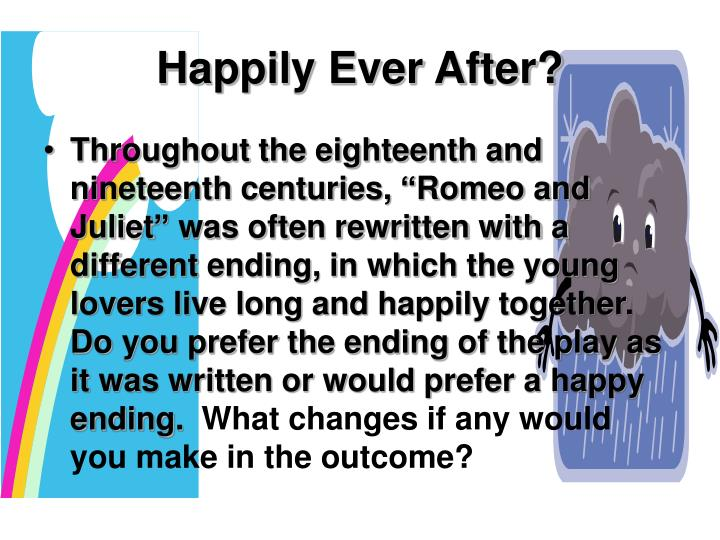 happily ever after n.