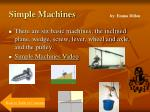 simple machines by emma dillon