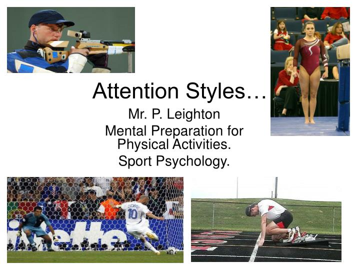 attention styles n.