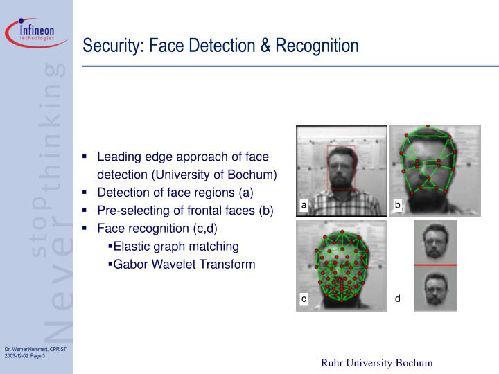 Security face detection recognition
