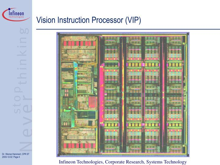 Vision Instruction Processor (VIP)