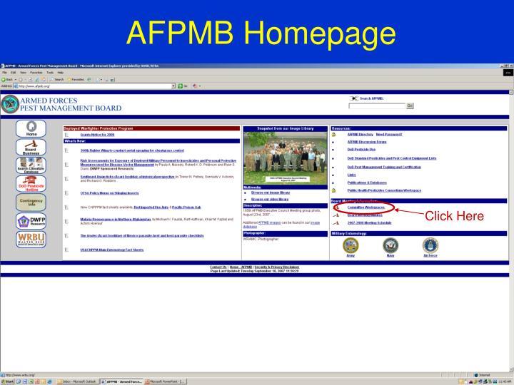 Afpmb homepage
