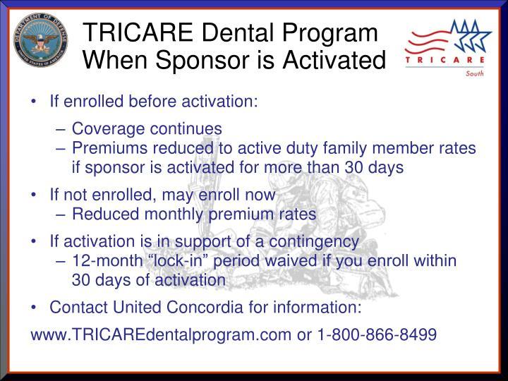 TRICARE Dental Program
