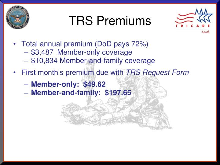 TRS Premiums