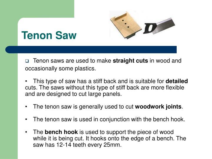 Tenon saw