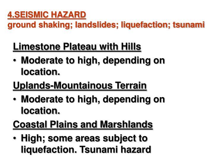4.SEISMIC HAZARD