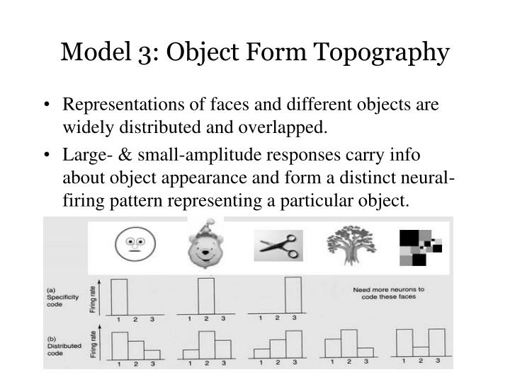 Model 3: Object Form Topography