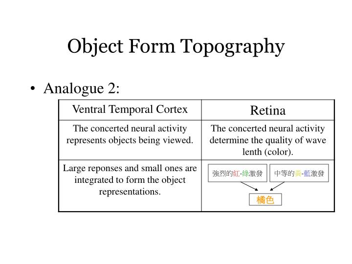 Object Form Topography