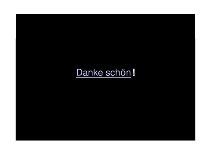 Danke sch