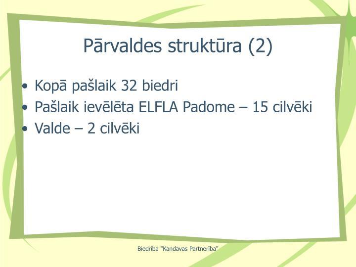 Pārvaldes struktūra (2)