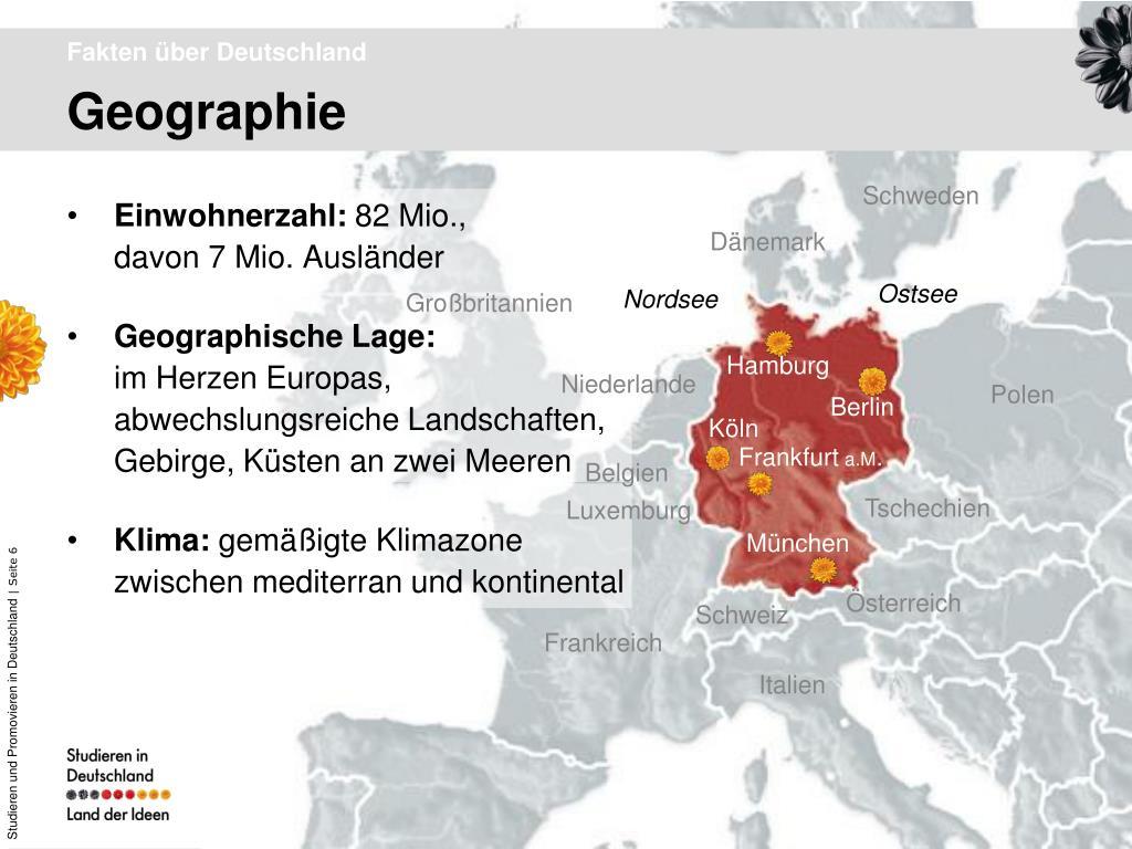 Deutschland Fakten
