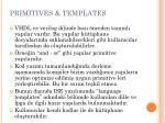 primitives templates