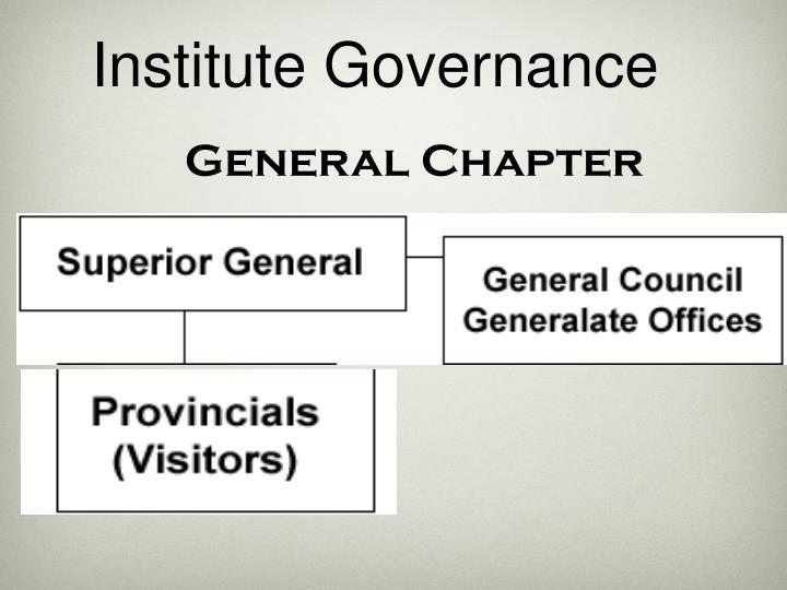 Institute Governance