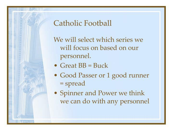 Catholic Football