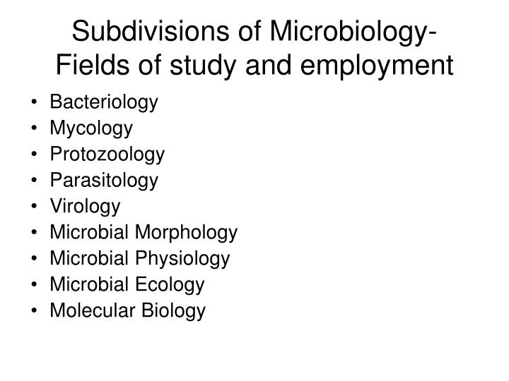 Ppt Scope Of Microbiology Powerpoint Presentation Id 6180868