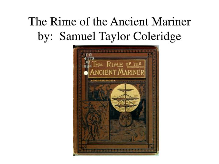 a tale of sin and forgiveness in the rime of the ancient mariner by samuel taylor coleridge
