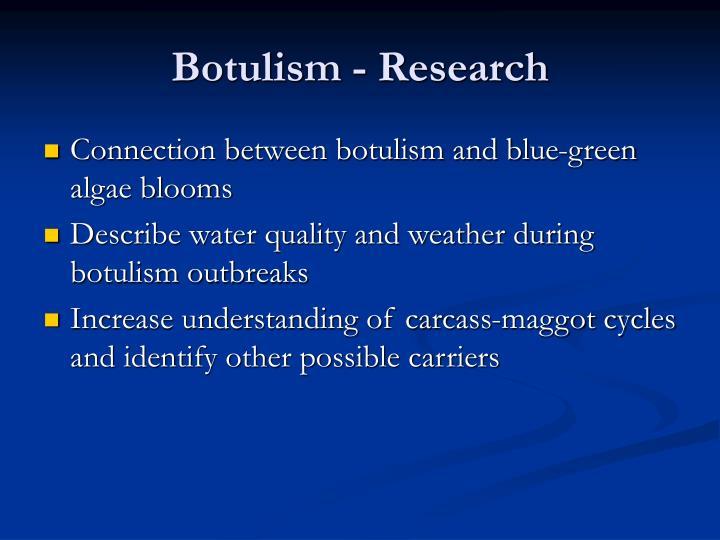 Botulism - Research